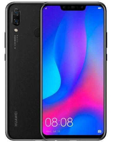 Flat Rs. 5000 off on Huawei Nova 3 (Black, 6GB RAM, 128GB Storage)